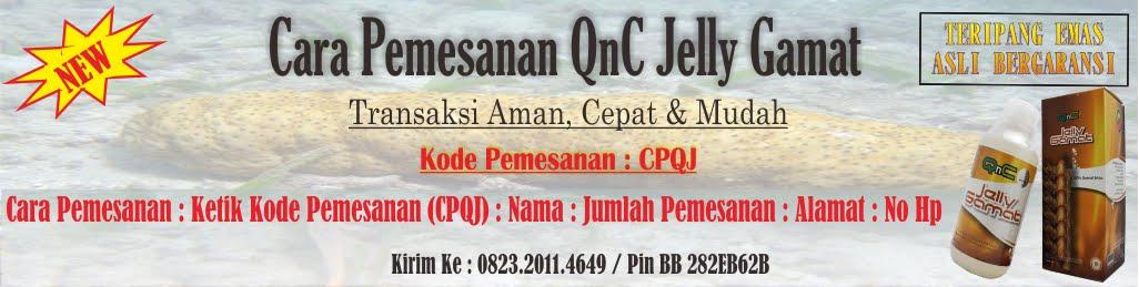 Cara Pemesanan QnC Jelly Gamat