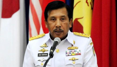 Panglima TNI, Laksamana Agus Suhartono