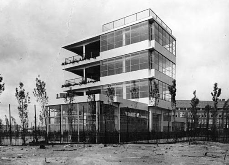 Aec architecture of early childhood open air schools in for Architecture 1930