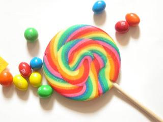 piruleta y caramelos