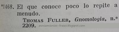 frases de Thomas Fuller