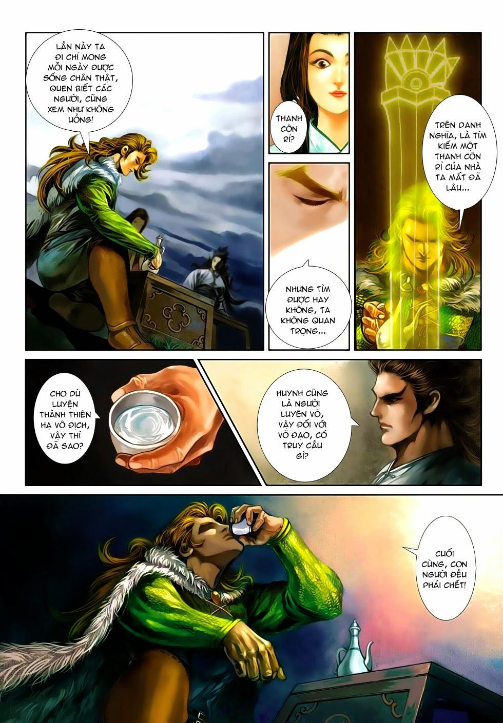 Thần Binh Tiền Truyện 4 - Huyền Thiên Tà Đế chap 5 - Trang 24