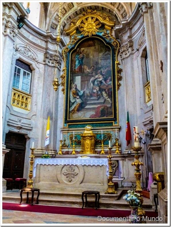 Igreja da Memória; Igreja de Nossa Senhora do Livramento e de S. José; Painel de Pedro Alexandrino