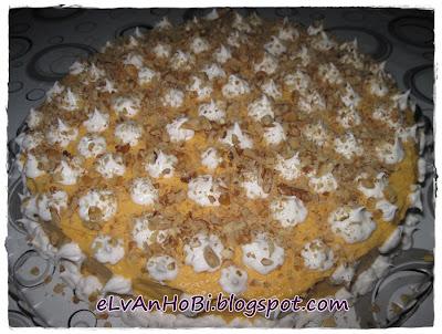 balkabağı püresi ile pasta