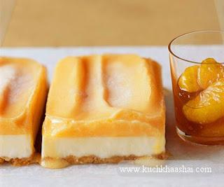 Mandarins and Ice Cream Cake