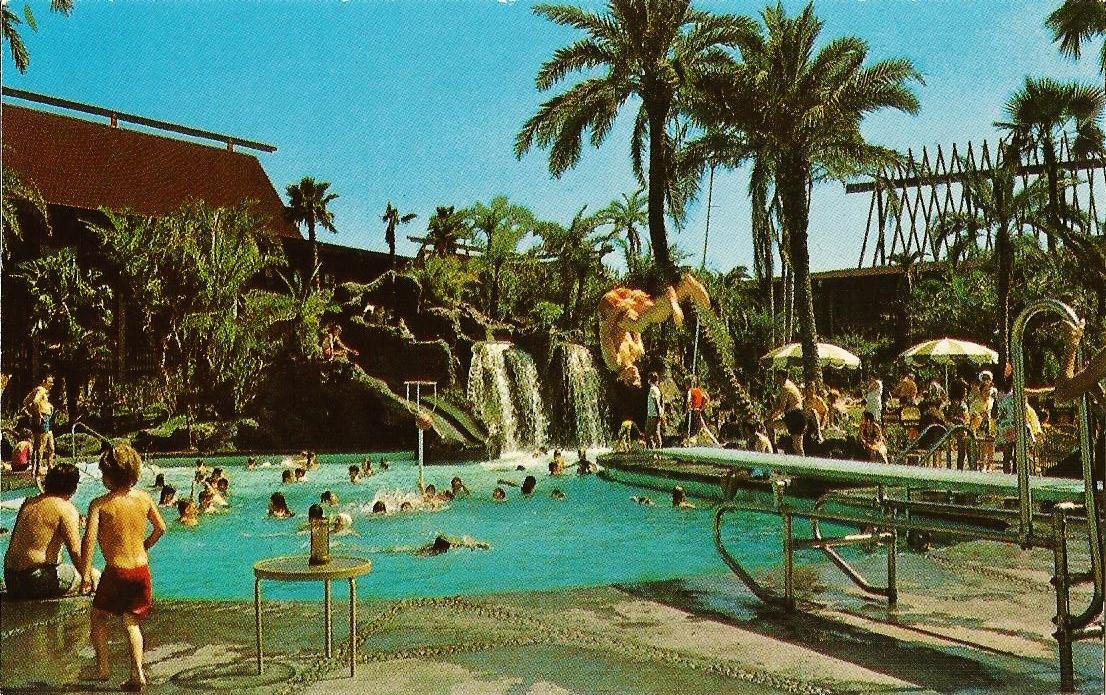 Disney Vacation Kingdom Vintage Polynesian Resort Postcards