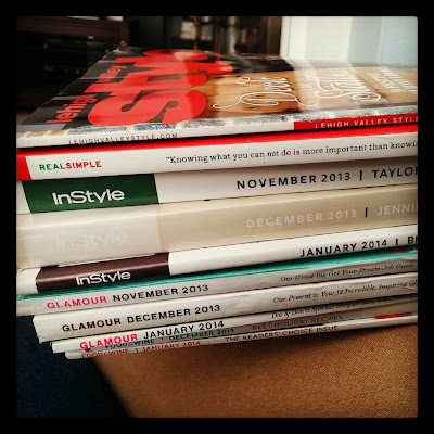 Stack of Unread Magazines | Taste As You Go