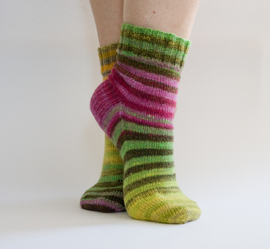 Knitting Pattern For Socks In The Round : 2012 knitting socks-Knitting Gallery