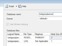 Membuat Database SQL Server