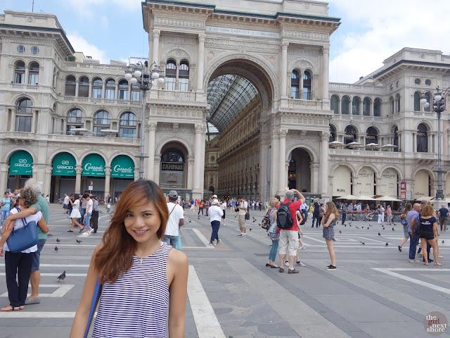 Ciao, Milano! Galleria Vittorio Emanuele II