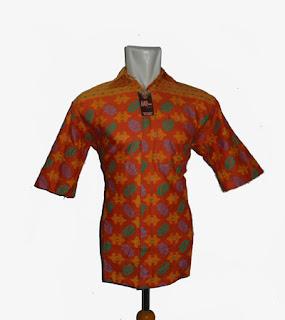 Baju batik pria modern