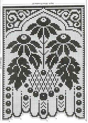 De tejido crochet y otras yerbas....: Cortinas y cenefas
