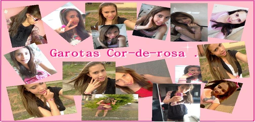 Garotas cor-de-rosa .