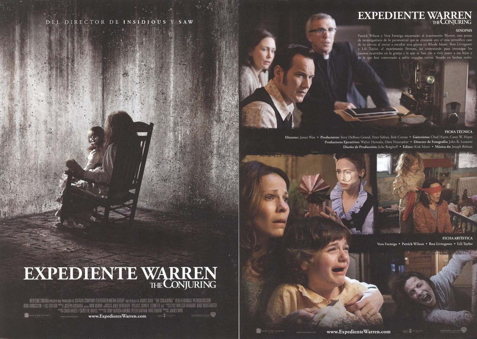 Expediente Warren. The Conjuring (2013)