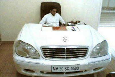 Luxurious Office Cabin, Luxurious Table & Chair of CEO (Mercedez Benz)