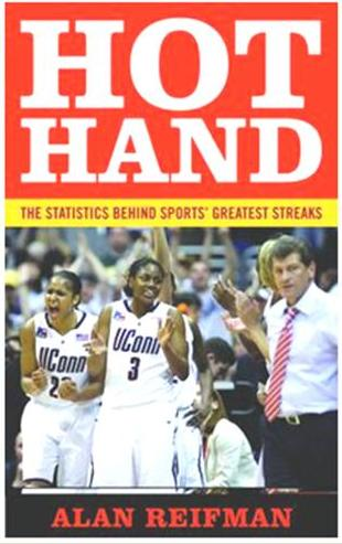 From your basketball courts blogger Alan Reifman, a book about sports streaks