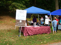 Vendor at brockville fairies in the park