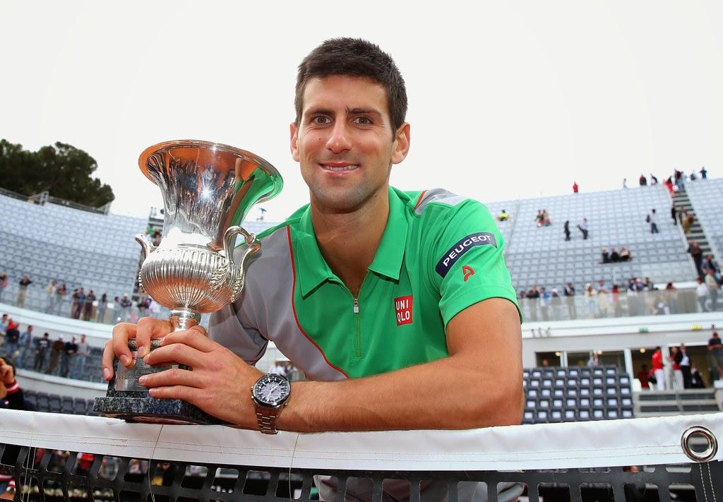 Djokovic se hace con su tercer título en Roma
