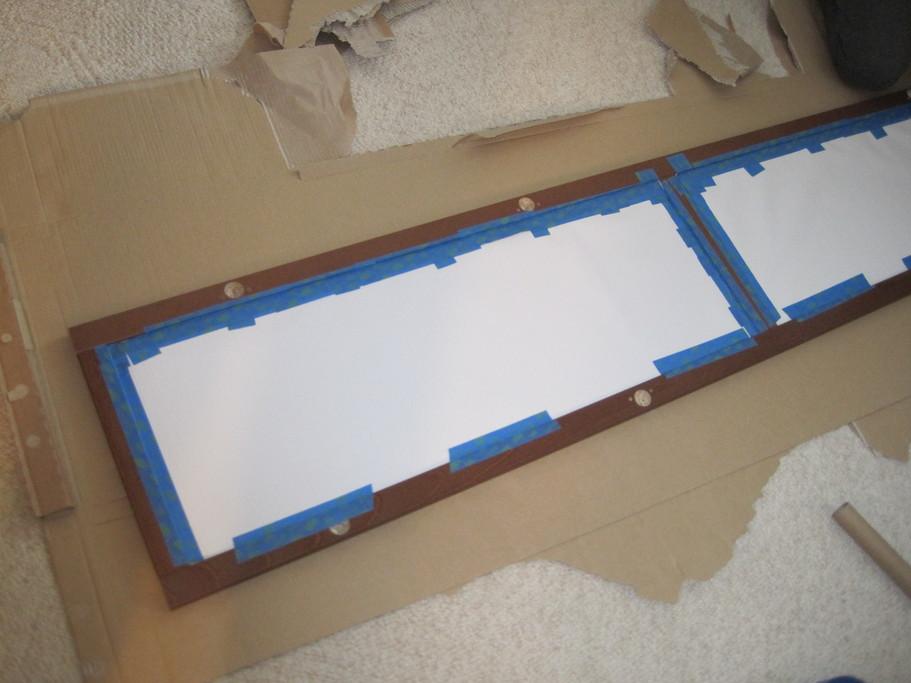 Home Glass Panel Headboard