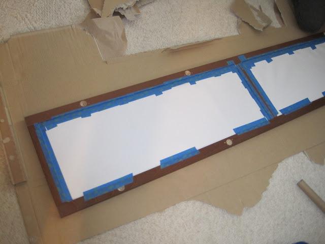 Glass Panel Headboard