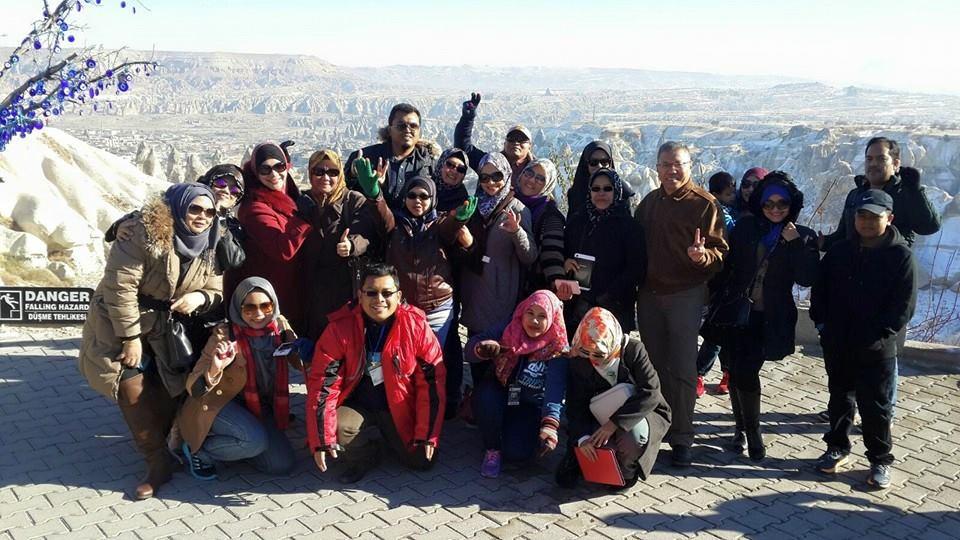 GROUP DARI MBSA MELAWAT PAMUKALE,TURKEY