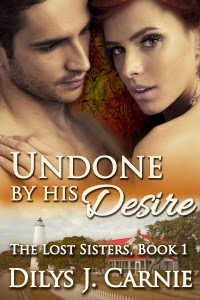 http://www.amazon.co.uk/Undone-His-Desire-Lost-Sisters-ebook/dp/B00JSS7I8M/ref=sr_1_6?s=books&ie=UTF8&qid=1398091508&sr=1-6&keywords=dilys+j+carnie