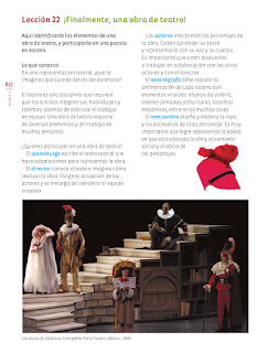 ¡Finalmente, una obra de teatro! - Educación Artística Bloque 5to 2014-2015