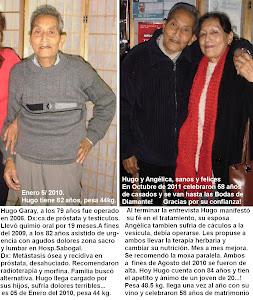 TESTIMONIO CANCER PROSTATA, METASTASIS OSEA