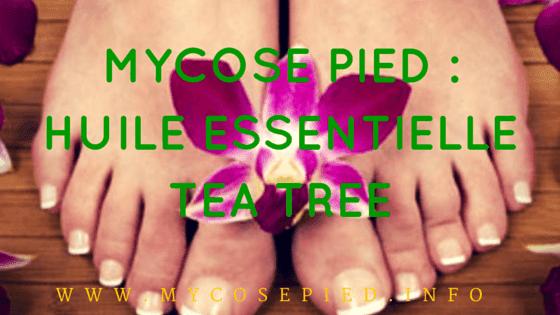 Huile Essentielle Tea Tree mycose