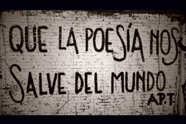 Poesía en la calle...