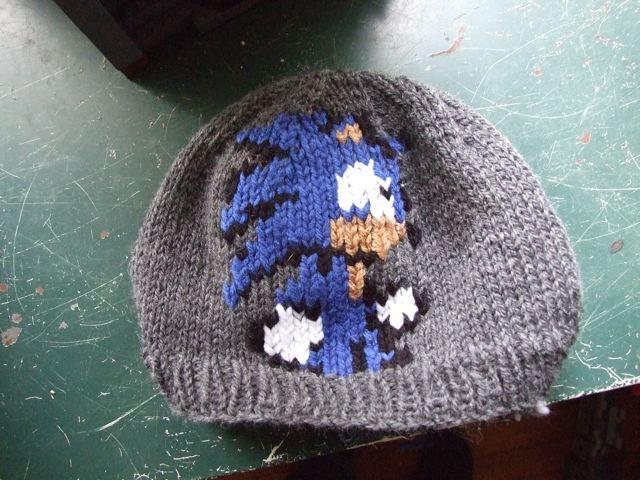 Momogus Knits Patterns: Our Friend, Duplicate Stitch.