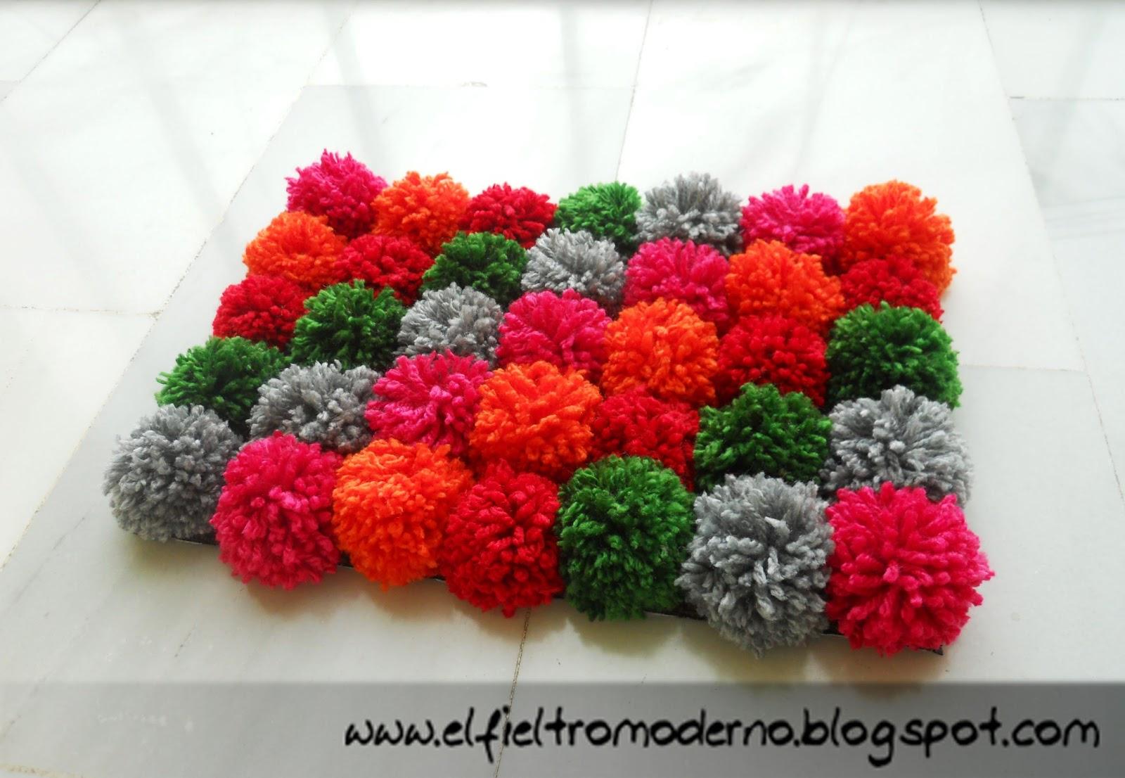 El fieltro moderno manualidades con lana cratfs with wool - Manualidades en lana ...
