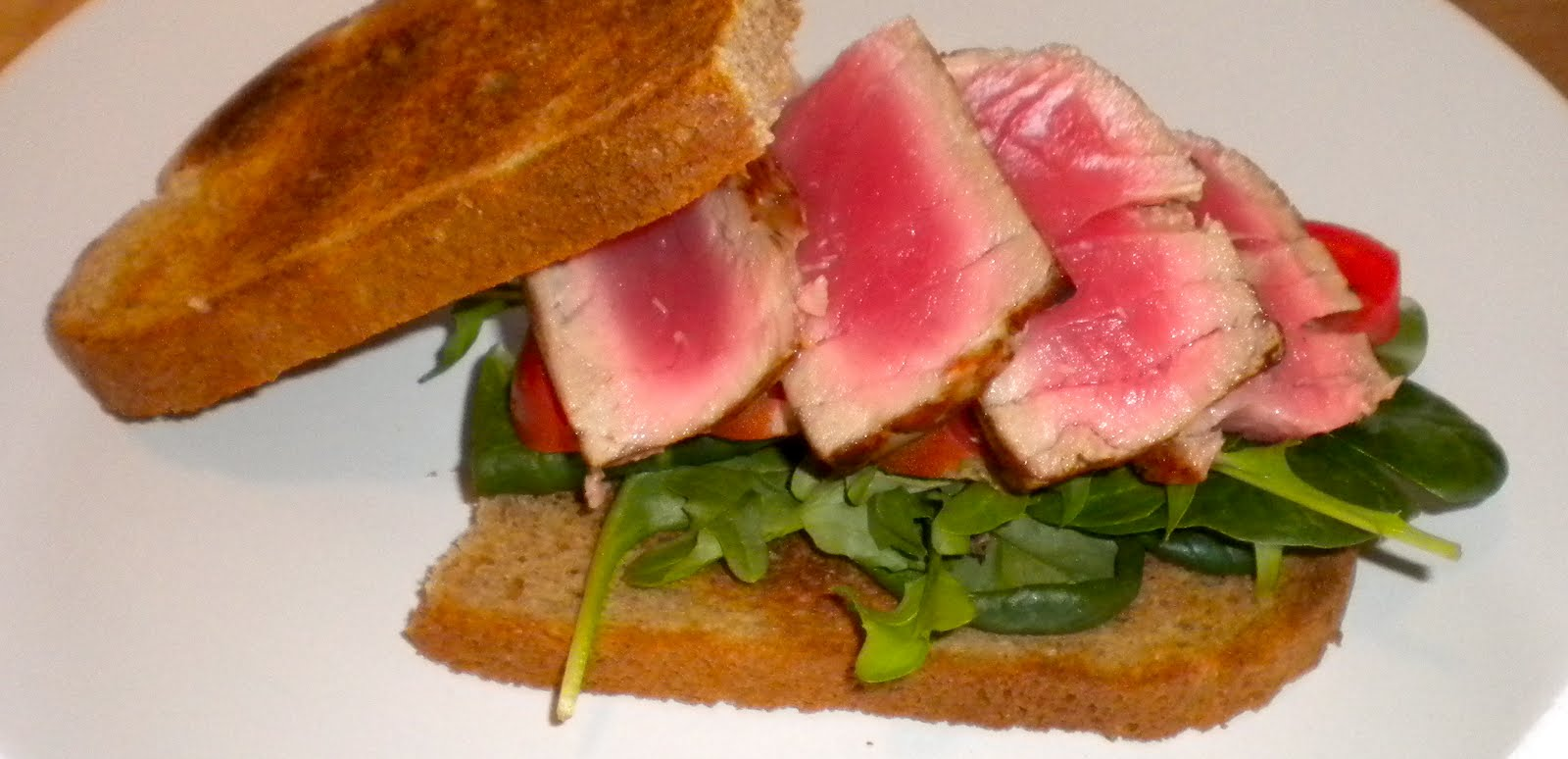 Pastamore: Seared Ahi Tuna Sandwich