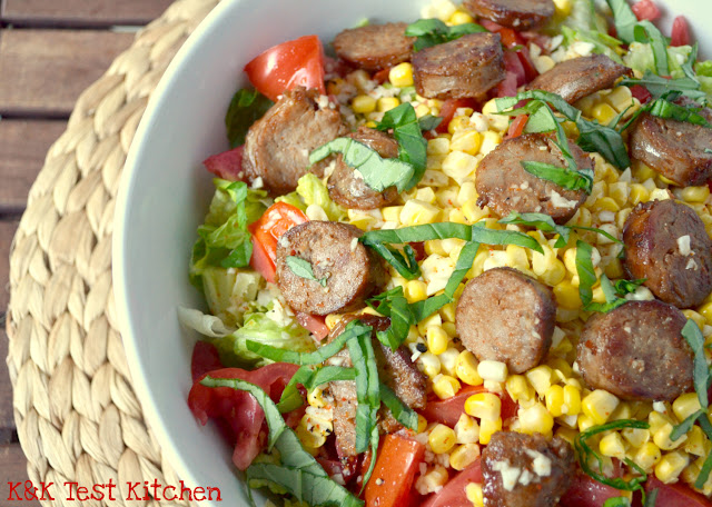 sausage and corn salad recipe