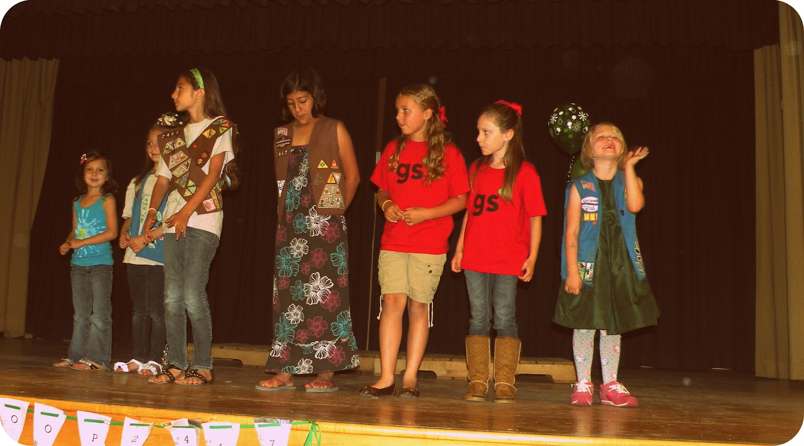 Girl Scout Troop #2447: Go Green! Bridging and Award Ceremony!
