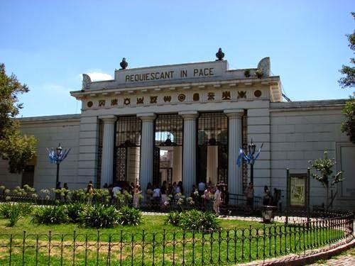 Cemitério de la Recoleta em Buenos Aires