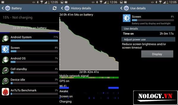 """Truy tìm các ứng dụng """"ngốn"""" pin của Samsung Galaxy S4"""