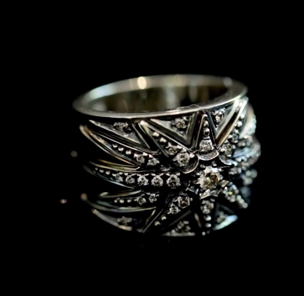 Tiffany Russian Wedding Ring 11 Cool H Stern diamond and
