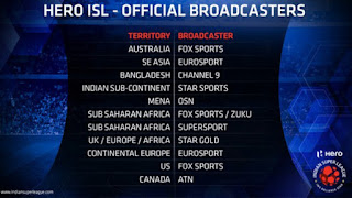 ISL 2017 Live Streaming Broadcaster Channels List Worldwide