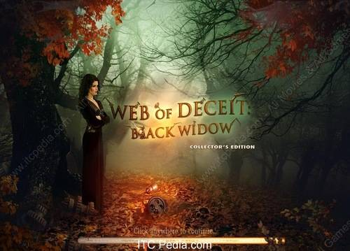 Web of Deceit Black Widow Collectors Edition