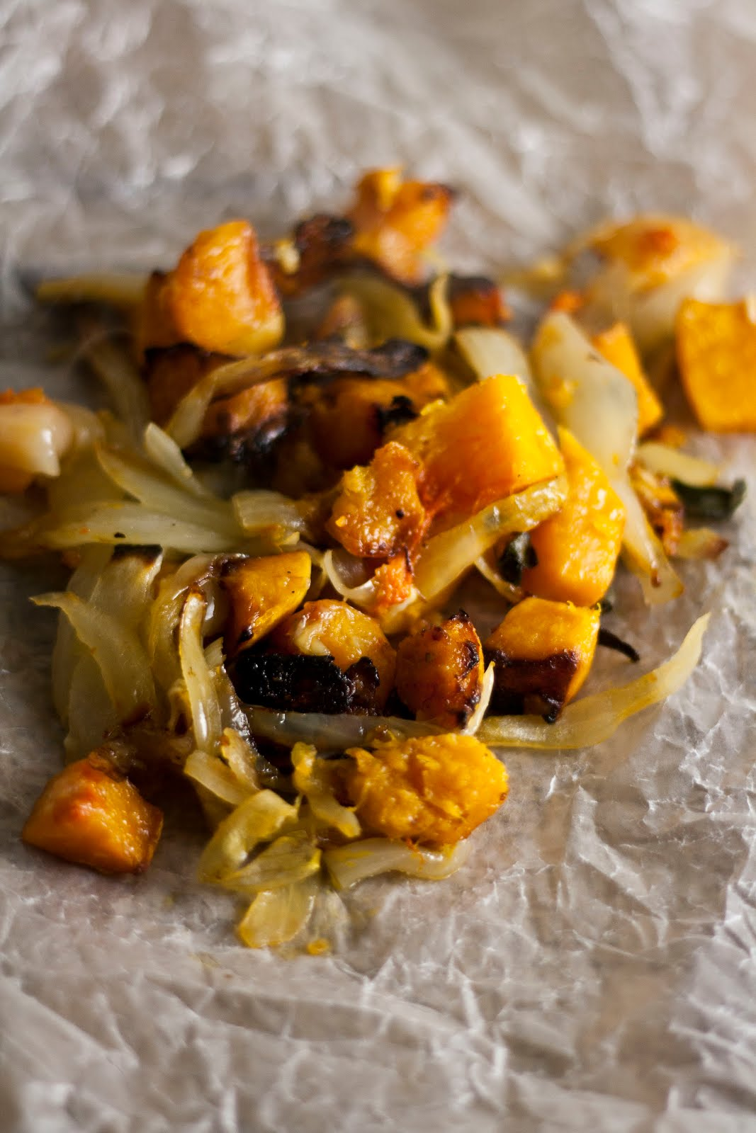 Butternut Squash and Caramelized Onion Galette | hummingbird high || a ...