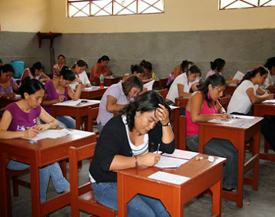 Resultados Contrato Docente 2014 (Examen Nacional Domingo 19 Enero