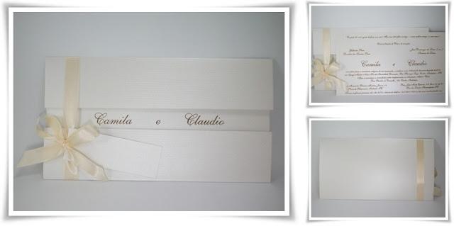 Casamento de Camila e Claudio, Modelo Armação 00.