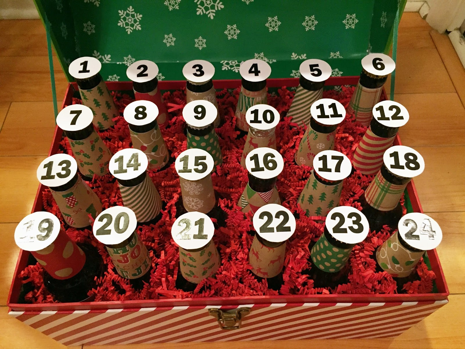 Chasin mason gifts for the husband diy beer advent calendar chasin mason beer advent calendar solutioingenieria Images