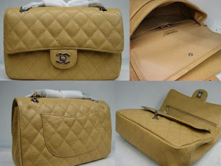 Chanel Classic Flap Bag Tan