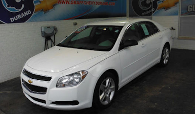 Used One-Owner 2011 Chevrolet Malibu LS