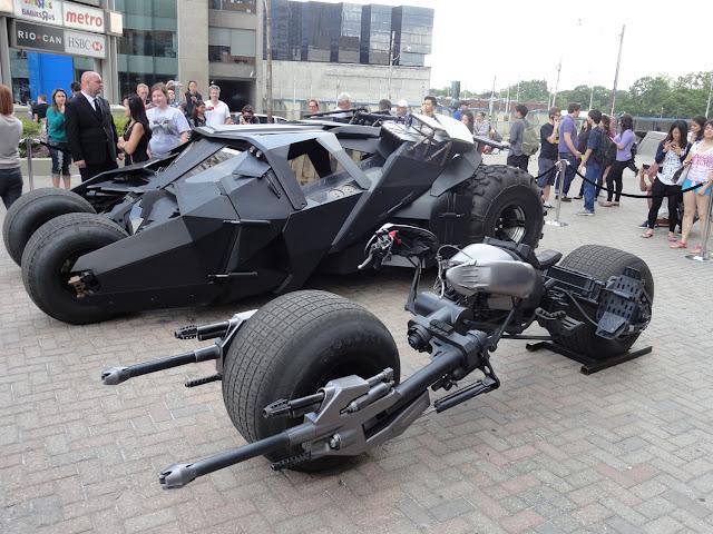 Batman The Dark Knight Rises Tumbler