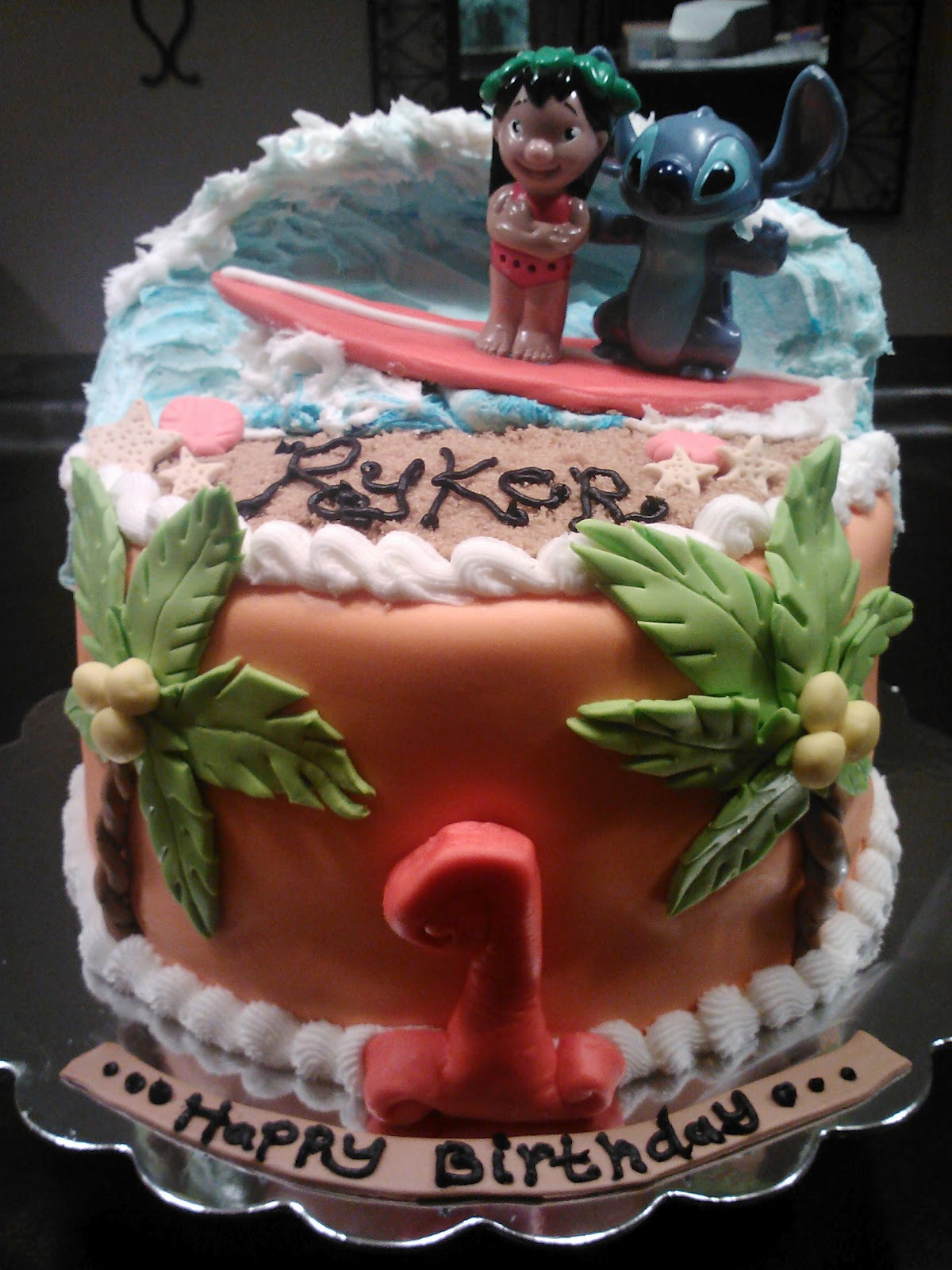 Patty Cakes Lilo Stitch Cake
