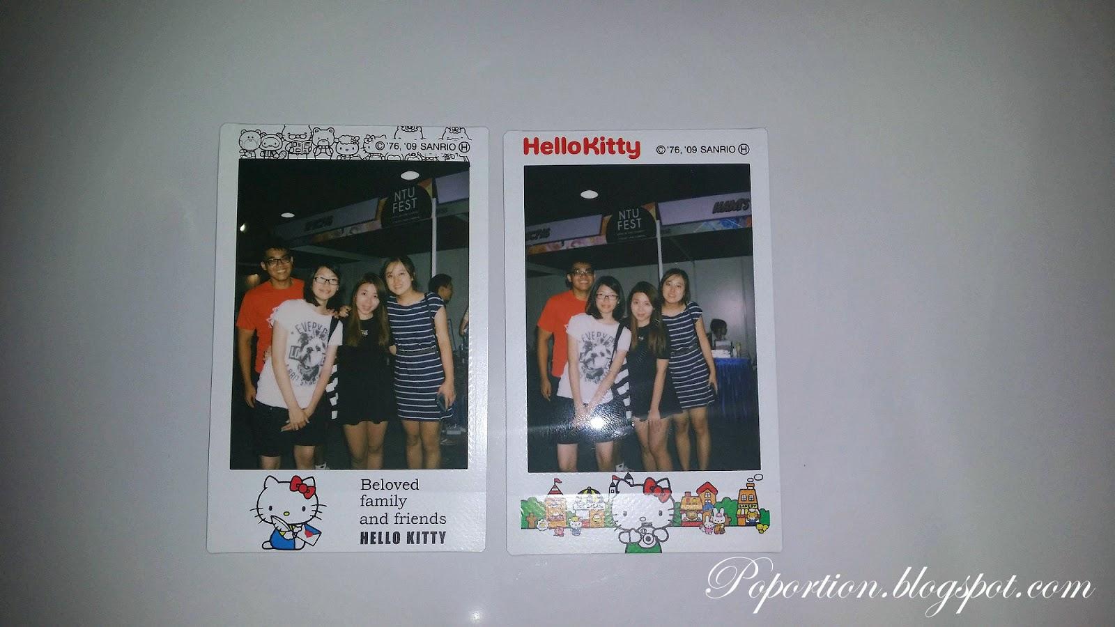 clique polaroid NTU Fest kang gary