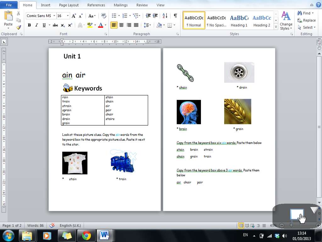 Printables Word Processing Worksheets it at san anton school working with a word processing program in sample of worksheet when complete